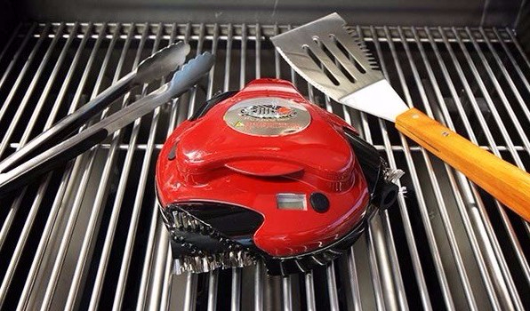 Grilbot red-on-grill